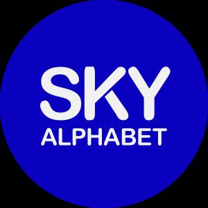 Sky Alphabet Social Media Vancouver logo circle nov 28 2017