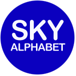 sky alphabet social media marketing agency vancouver logo