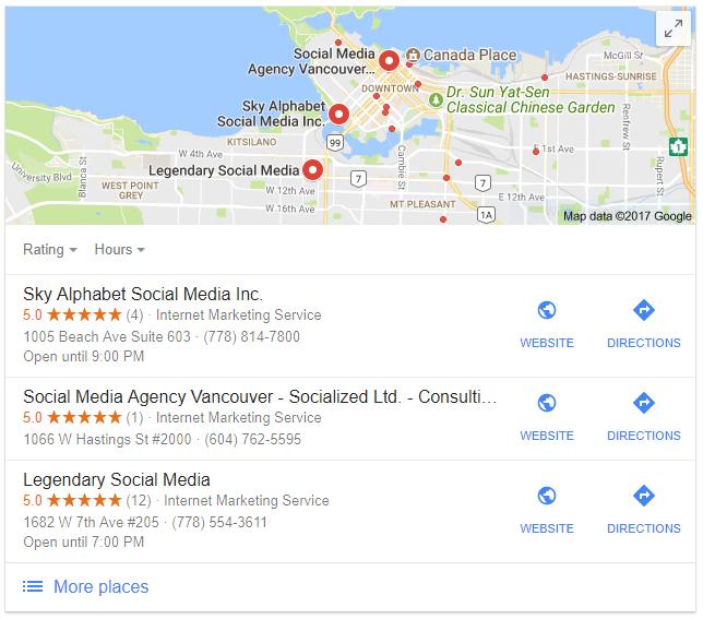 Sky Alphabet is the leading vancouver social media agency