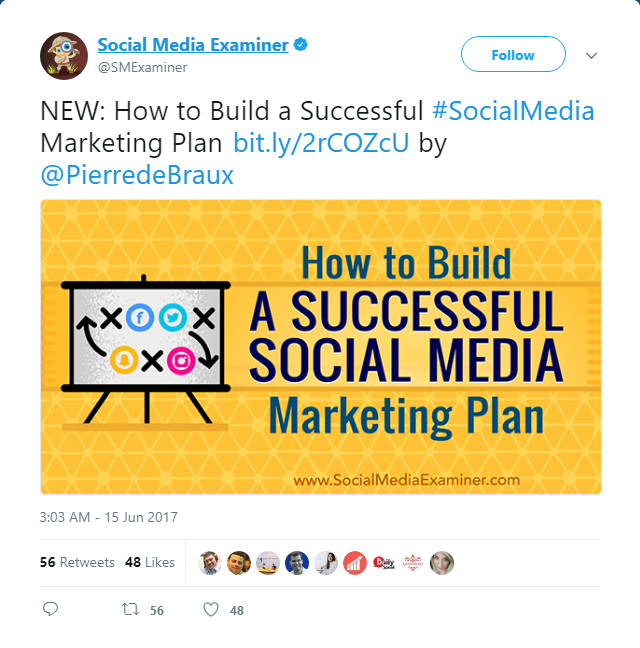 Building a successful social media marketing plan