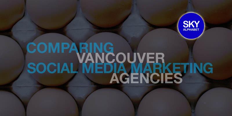 social media marketing agencies vancouver comparison by twitter metrics