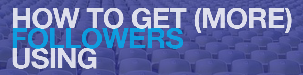 How to get more followers article link