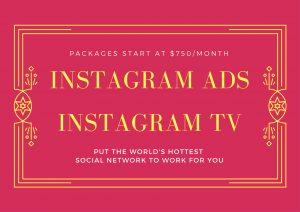 Social Media Instagram Ads and Instagram TV