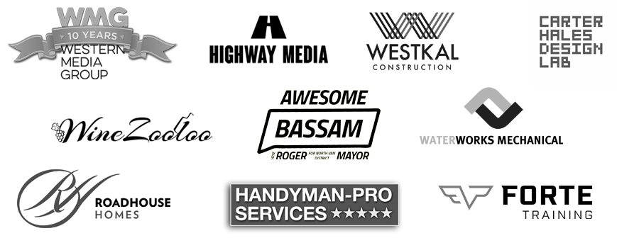Vancouver social media and digital marketing client logos
