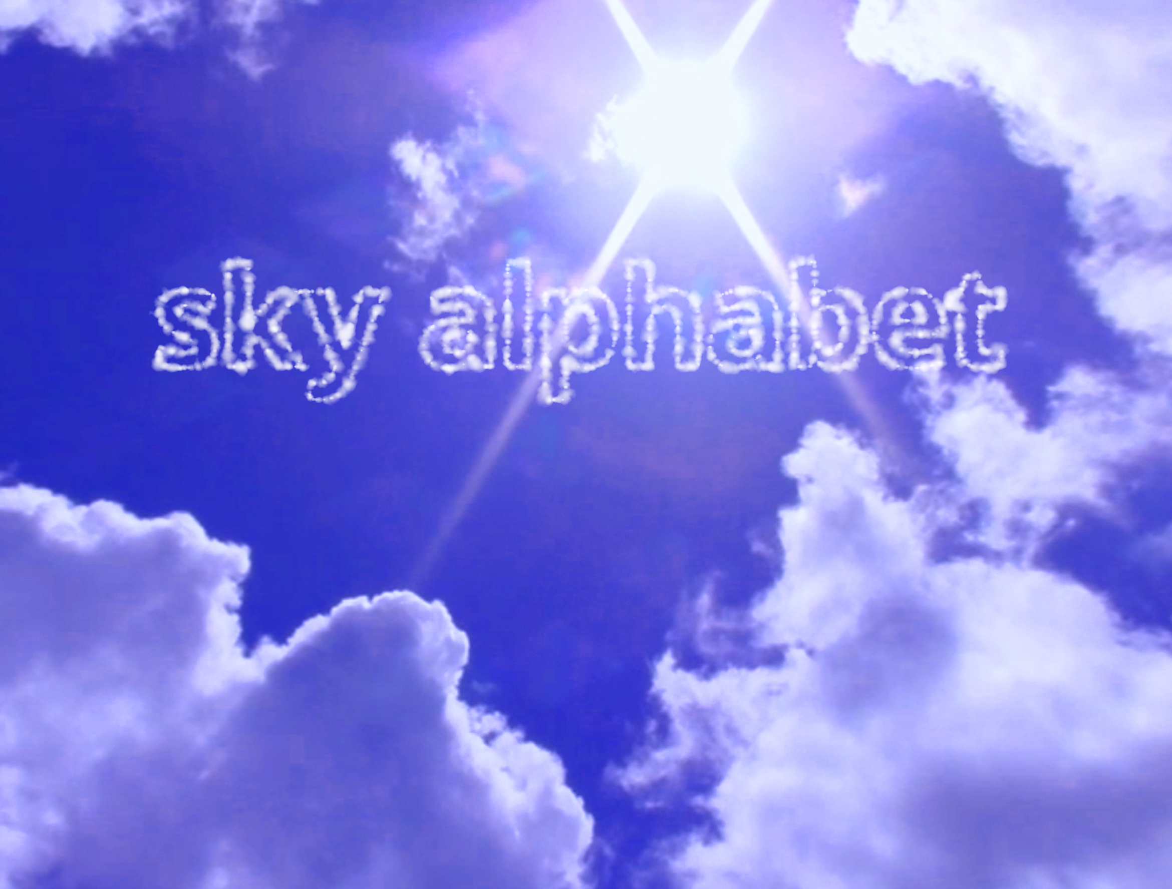 sky alphabet social media cloud alphabet writing vancouver bc
