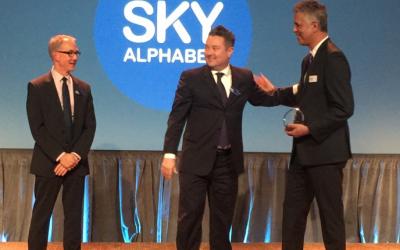 Sky Alphabet Wins the BCAMA Marketing Excellence Award
