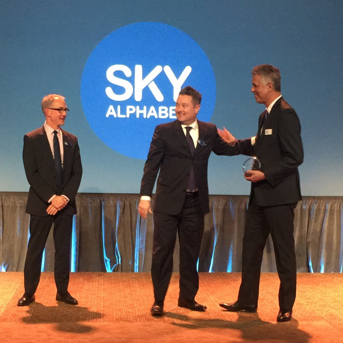 Sky Alphabet Wins the BCAMA Marketing Excellence Award