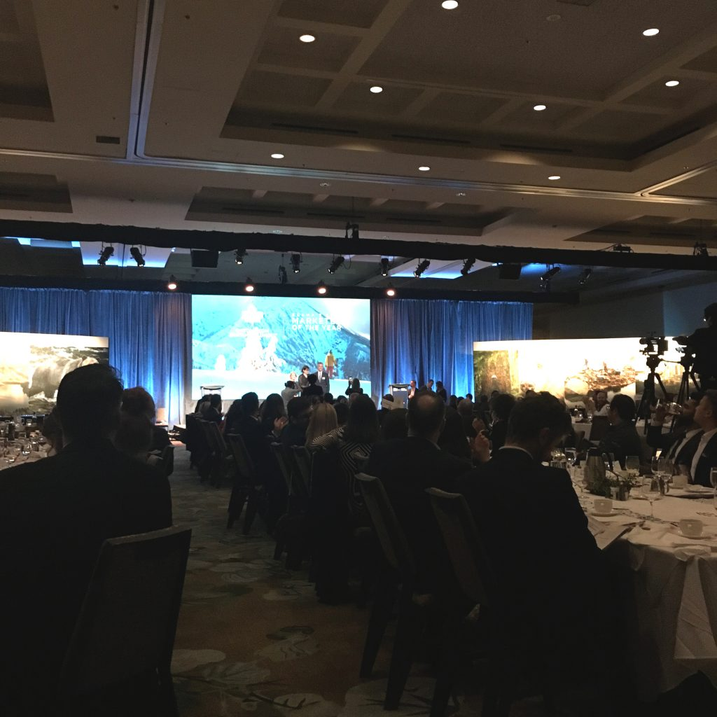 The BCAMA Marketing Excellence Awards were held at the Westin Bayshore on Feb 2019.