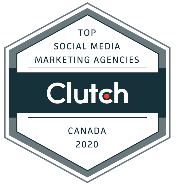 Ranked as one of Canada's Top Social Media Marketing Agencies i in 2020