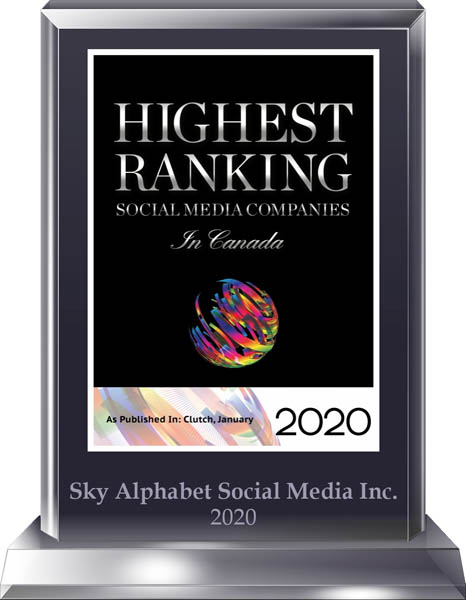 Socal Media Top Ranked in Canada Sky Alphabet