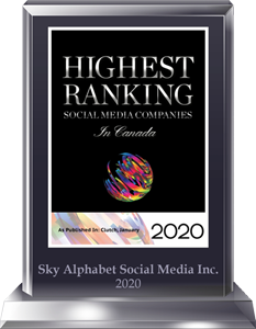 Top social media IR firms, Sky alphabet is an award-winning corporate social media agency.