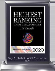 Social media investor relations by Sky Alphabet one of Canada's top social media agencies