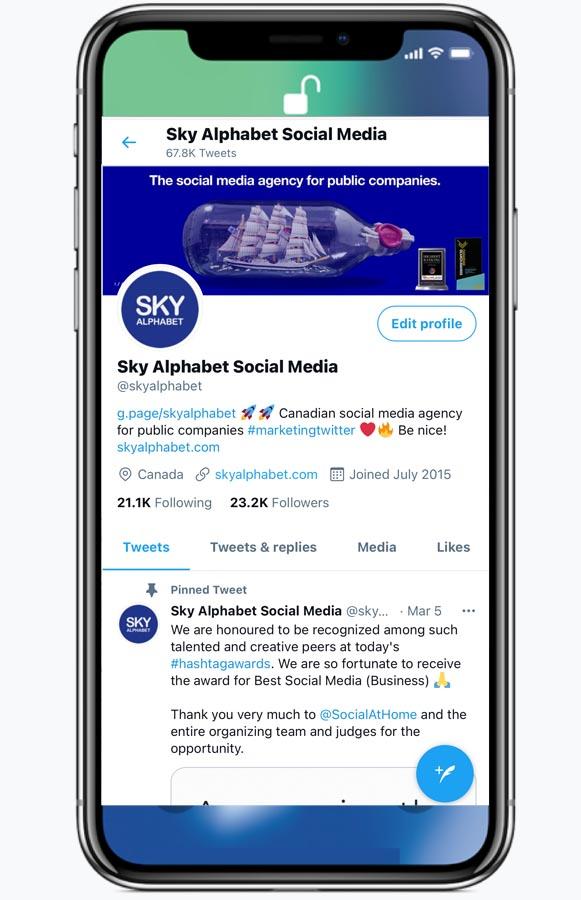 social media for OTC companies