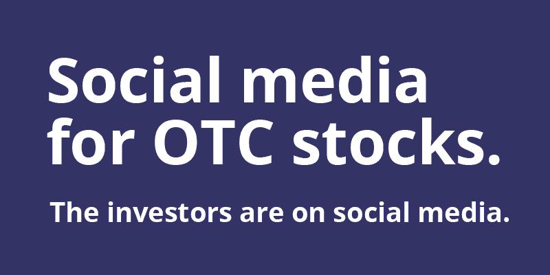 social media for OTC stocks