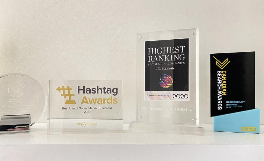 Sky Alphabet Awards 2021 2020 2019
